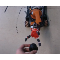 OpenBionics end effector for youBot