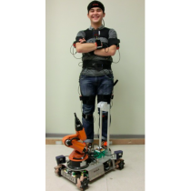 Inertial motion capture based tele-operation of a mobile robot manipulator