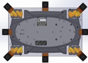 Mounting and sensor plate